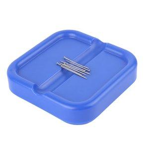 Magnética del sostenedor del clip del acerico papel pasador Caddy Para herramienta de los accesorios de costura del empuje de coser Agujas de coser DIY Caja Organizador