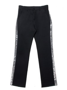 Custom Made Michael Jackson Cosplay Billie Jean Pant Sliver Straight Casual Stripe Pant Costume Accessories MJ Pants 3 Colors