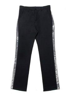 Custom Made Michael Jackson cosplay Billie Jean Pantalon Sliver droites Stripe Casual Pantalon Costume Accessoires MJ Pantalons 3 couleurs