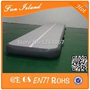 Livraison Gratuite 3x1x0.2m Profond Gris Couleur Inflatble Air Track, Inflatable Home Edition Air Track à vendre