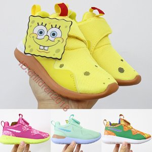 Zapatillas deportivas de marca Tessen para niños 2,020 Olímpico Ejecutar 4.0 zapatos del niño de las zapatillas de deporte esponja Pineapple House Niños Niñas Tamaño 22-35