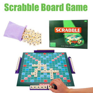 Original Scrabble Game Family Party Board Game Kids Educational Toy
