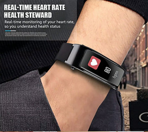 Sport Bluetooth Sport Men Smart Watch For Android iOS Phone With Earphone Heart Rate Monitor Women Smartwatch Refuse Answer Call