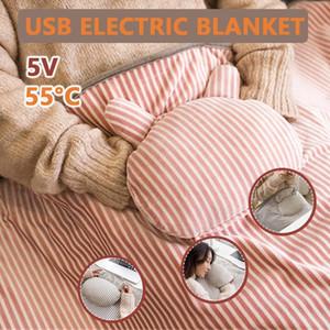 Multifunktionale USB Strom Decke warme gemütliche Decke Schal Elektroheizung Waschbar Office Home 2020