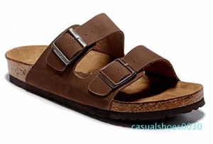2019 Arizona Mayari Gizeh street summer Men women pink flats sandals Cork slippers Unisex Sandy beah casual shoes print mixed size 34-45 c30