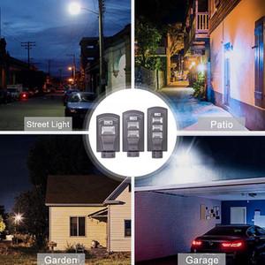 20W / 40W / 60W Солнечная Светодиодные лампы Wall Street Light Super Bright Radar PIR датчик движения лампы безопасности для наружного сада Yard