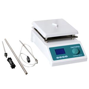 SH-4C Labormagnetrührer mit Heizung Hotplate Blender Mixer-Temperatur-Digital Control Display, mit Rührfisch