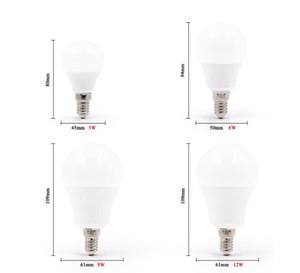 Gobe Bulb Light 5PC / Lot Spotlight 3W 6W 9W 12W 15W 18W 20W AC 220V Table d'intérieur Lampe de nuit Économie d'énergie pour la maison