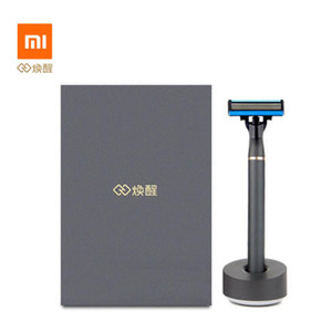 Original Xiaomi youpin Shaver Beard Shaving H600 Manual Razor Magnetic shavings Replaceable Shaver Blade for Men Women 3031710A5