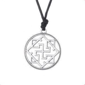 Valkyrie Symbol Pagan Amulet Pendant Slavic Viking Necklace Religiosi Gioielli per Uomo e Donna