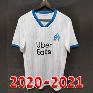Thai 19 20 21 Olympique De Marseille soccer jersey OM maillot 2020 2021 PAYET THAUVIN BENEDETTO football shirt men + kids kit sets 120 years