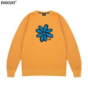 Golf Wang Flower Cherry Bomb Tyler Le Créateur Hip Hop Skate Sweatshirts Sweats Homme unisexe en coton peigné