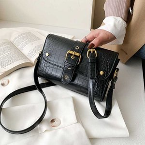 Vintage Alligator Pattern Crossbody Bags For Women 2020 Handbags Women Bags PU Leather Shoulder Messenger