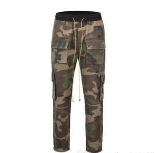 20SS NOUVEAU Hommes Camouflage Jeans Pantalons Cargo Mode Pantalons Casual Printemps Automne poches Designer Pantalon Jogger