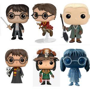 6 Estilo FUNKO POP Harry Potter 09 # mão Boneca Boneca Toy Modelo PVC bonecas presentes brinquedos