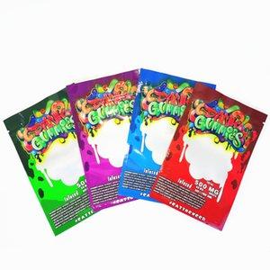 Nouvelle arrivée Maylar sac Dank gélifiés Sac Zipper Sac détail sec Herb fleur bonbons sacs Gummy mylar de sacs d'emballage