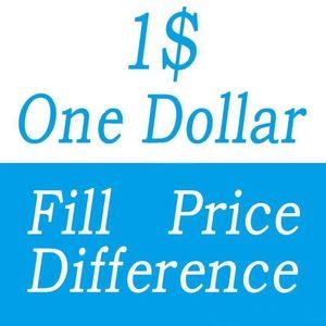 Ein Dollar Füllpreis Differenzzahlung für DHL EMS Box Verschiedene Extrakosten Unterschiedliche Versandkosten Ffee Etc