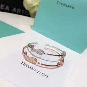 Luxus Designer Schmuck Frauen Armbänder Tifco Marke Diamant Armreif Charme Armband Damen Bracciale da Donna 925 Sterling Silber Material