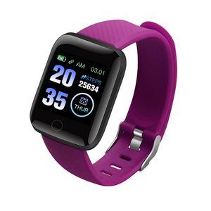 116plus smartwatch Bracelet Waterproof Fitness Tracker Heart Rate Blood Pressure Monitor Pedometer samsung smart watch reloj inteligente