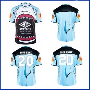 2020 CRONULLA-SUTHERLAND SHARKS Rugby Jersey 2019 Indigenous Jersey Rugby League Jerseys Retro Australia maillot de rugby size S--5XL