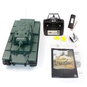 6.0 New Edition With Infrared battle system 1 16 Russia Sovien Unit-KV-1'S rc battle tank 3878-1 Pro rc tank