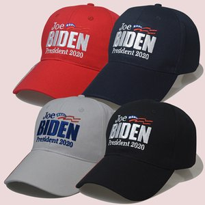 2020 ABD Seçim 4 Renkler Biden Şapka Beyzbol şapkası Biden Şapka ABD Cap In Stok XD23517