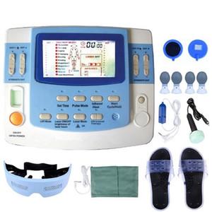 جديد متعدد الوظائف علاج الوخز بالإبر آلة مدلك الجسم مع الموجات فوق الصوتية والليزر جهاز العلاج الطبيعي