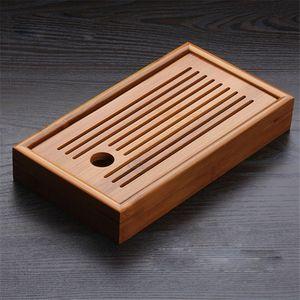 tradiciones chinas bandeja del té de bambú de bambú sólido tablero de té de la taza de kung fu tetera de la artesanía de la bandeja, la cultura china juego de té Preferencia