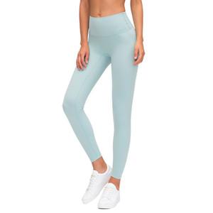 2020 ausrichten Lu Leggings Designer hohe Taillen-Yoga Gamaschen Frauen s Athleti Arbeit heraus tragen nahtlose Yoga Sport femmes Fitness