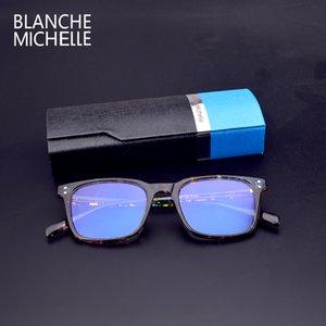 도매 블랑쉬 미셸 2,019 스퀘어 TR90 프레임 안경 프레임 여성 MeAnti - 블루 컴퓨터 안경 프레임 안경