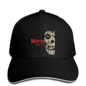 Gorra de béisbol limitadas las gorras sombreros, bufandas guantes sombrero de Neu Misfits Viernes 13 Álbum banda de punk rock Snapback alcanzó su punto máximo