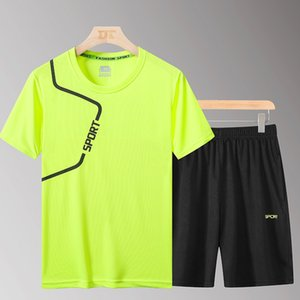 5XL Mens Sportswear Tracksuit Elastic Running Sets Men Football Basketball Tennis Sport Sets Fitness GYM Suits Workout Clothing
