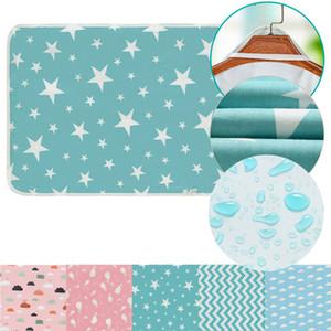 Bambino portatile lavabile Fasciatoio neonati Carino impermeabile pad pieghevole Materasso per bambini Gioco Piano riutilizzabile pannolino