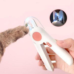 Pet Nail Clipper Home Dog Cat Cutter Beauty Nail Clippers LED Lighting Puppy Nails Cutting Machine with Handle