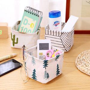 Papeterie Boîte de rangement étanche Mêle bureau Panier de rangement durable pliable sac de rangement usine Imprimer Organisateur cosmétiques BC BH1231