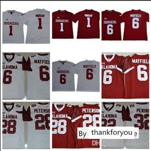 Mens Oklahoma Sooners Samaje Perine Stitched Name&Number Game Legend American College Football Jersey Size S-3XL