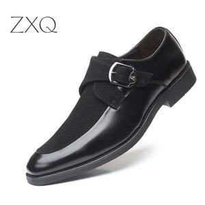 Nuevo cuero de la llegada de los hombres zapatos formales sociales de alta calidad elegantes zapatos de los hombres clásicos de Oxford