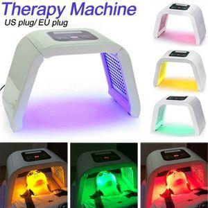 Corée Portable OMEGA Led Luminothérapie machine 4 couleurs PDT Photon pour l'acné traitement Pigmentation Correction