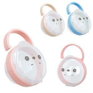 Bebek Katı Emzik Konteyner Tutucu Emzikler # Bebek Besleme emziği Kutusu Seyahat Saklama Kutusu Güvenli Tutucu emziği Sahte Kutusu
