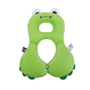 Baby Shaping pillow Infants Anti Roll U-shaped Pillow Cute cartoon Kids Car Stroller Accessories Head Neck Protection Wholesale