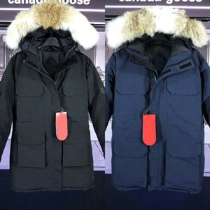 Outdoor windproof Frauen dicke warme unten kalt Mantel -40 extrem niedrigen Explorations- Frauen wärmen oben G00SE Daunenjacke Freies Verschiffen