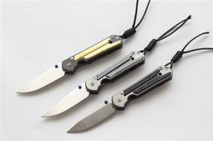 Kevin John petit sebenza 21 couteau pliant M390 lame TC4 Titane poignée camping en plein air chasse fruits de poche Couteaux Outils EDC