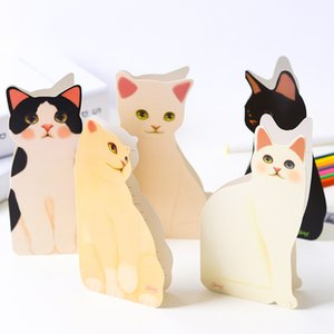 100pcs New Creative Lovely Cat Greeting Card 3d Invitations Blessing Festival Birthday Card Cute Cat Design Card