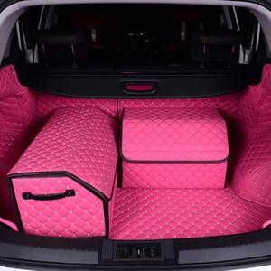 Автомобильные багажники Органайзеры Кожа PU Сумка для хранения задних сидений Многофункциональный универсальный Автокресло Back box Аксессуары для интерьера Негабаритные L XL