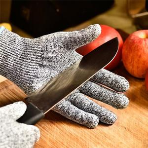 Анти-вырезать доказательство перчатки горячая распродажа ГГМ серый черный ПЭВД стандарт ANSI ладони en388 анти-сократить уровень 5 рабочих защитные перчатки Cut устойчивостью перчатки