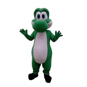 Personalización del traje de la mascota de Mario Yoshi para adultos de Super Cute para el evento de la fiesta de Halloween