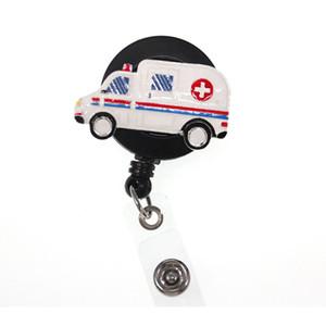 10pcs lot Medical New Medical Ambulance Retractable ID Badge Holders For Hospital Stuff