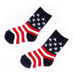 Baby Socks Kids Designer Socks 2019 New Girls Combed Cotton Star Stockings Children High Quality Fashion All-match Warm Christmas Socks Gift