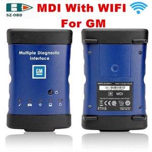 2017 Sıcak Satış G -M Mdi ile Kablosuz Wifi Araç Tanı Aracı Çoklu Teşhis Arayüz obd2 Tarayıcı DHL Ücretsiz Kargo