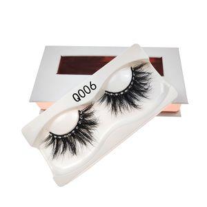 16 Style de strass Faux Cils 3D croisement naturel Mink Lashes surdimensionnée Glitter Mode Lashes Femmes Lady Maquillage Cils Extension